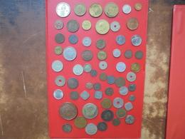 61 MONNAIES DU MONDE BEAU LOT ! START 1 EURO ! (360 Grammes) - Vrac - Monnaies