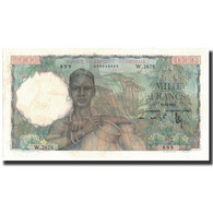Billet, French West Africa, 1000 Francs, 1952-12-19, KM:42, SUP - West African States