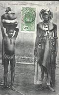 Dahomey    UN  GAMBARI ROUBLARD     CPA 1910  Oblitérations - Dahomey