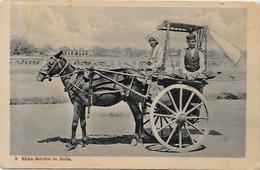 CPA Inde India Britannique Anglaise Non Circulé Type Ethnic Métier Attelage - India