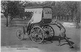 CPA Inde India Française Non Circulé Type Ethnic Métier Pondichéry - India