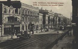 POLSKA - POLAND - LODZ, Ulica Piotrkowska, Dom Szmechel I Rosner - Poland