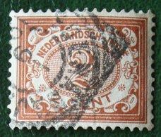Cijfer 2 Ct NVPH 42 1902-1909  Gestempeld / USED NEDERLANDS INDIE / DUTCH INDIES - Indes Néerlandaises