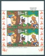 NEW ZEALAND - MNH/** - 1977 - HEALTH - Yv Bloc 41 Mi 720-725 SG MS1152 Sc B100a  - Lot 17131 - Blocks & Sheetlets