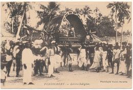 PONDICHERY - Litière Indigène - India