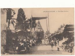 PONDICHERY - Un Char Indien - India