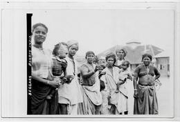 CPA Inde India Britannique Anglaise Non Circulé Type Ethnic Carte Photo RPPC Bombay - India