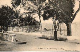 Gabon. Libreville. Route Longeant La Plage - Gabon