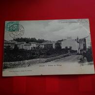 JAUJAC ENTREE DU VILLAGE - France