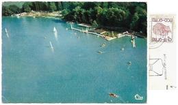 Hainaut>Thuin>-Chimay>VIRELLES Vue Aérienne - Le Lac - Base Nautique C.V.V.B. - 6F Timbre 1978 - Chimay