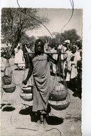 CPSM. PF. Tchad . ABECHE. Femmes Au Marché. La Carte Africaine - Tchad