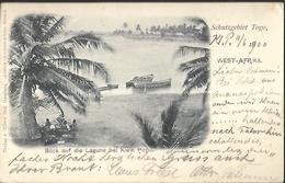 Schutzdgebiet  Togo  Blick Auf Die Lagune Bei Klein Popo  AK 1900 - Togo