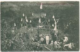 CEYLON - Cremation Of A Buddhist Priest At Kandy - Carte En L'état - Sri Lanka (Ceylon)