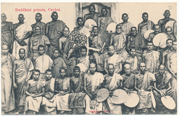 CEYLON - Buddhist Priests - Sri Lanka (Ceylon)