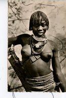 CPSM. PF. A.E.F. JEUNE FEMME De La Région De MONGO - Cartes Postales