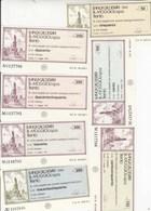 MINIASSEGNI -BANCA CALDERARI E MOGGIOLI S.P.A. TRENTO -.-- FDS-- - [10] Assegni E Miniassegni