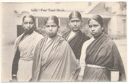 INDIA - Four Tamil Maids - India