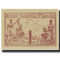 Billet, French West Africa, 1 Franc, 1944, KM:34b, NEUF - West African States