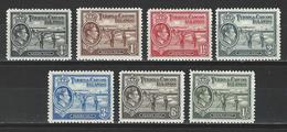 Turks & Caicos Islands SG 194, 196, 197, 198, 200, 201a, 202a, Mi 118, 120, 121, 122, 124, 126, 128 * MH - Turks And Caicos