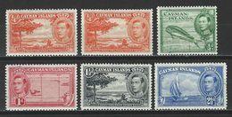 Cayman Islands SG 115, 115a, 116, 117, 118, 120, Mi 101A, 101C, 102A, 103, 104, 106 * MH - Cayman Islands