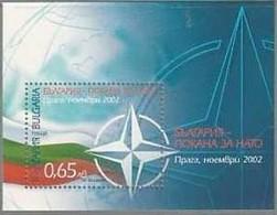 NATO - Invitation For Acceptance - Bulgaria / Bulgarie 2002 -  Block MNH** - NATO