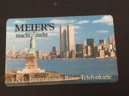Rarer Prepaid Card Meiers T N C Travel Card - Used - [2] Mobile Phones, Refills And Prepaid Cards
