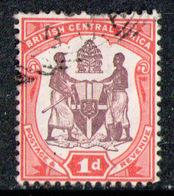 NYASALAND 1901 - From Set Used - Nyasaland (1907-1953)