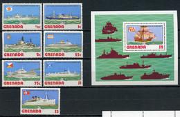 1976 - GRENADA - Mi. Nr. 798/804 + BL 60 - NH - (CW4755.8) - Grenada (1974-...)