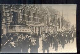 Belgie - Wyneghem Wijneghem -  Inhuldiging Gemeentehuis Fanfare - 1910 - België