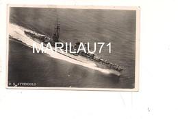M6008 NAVE REGIA ATTENDOLO 1939 Viaggiata TOLTO FRANCOBOLLO - Guerre
