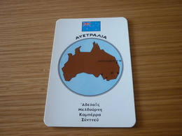 Australia Related Brisbane Old Certalidon Medicine Greek '50s Game Trading Card - Trading Cards