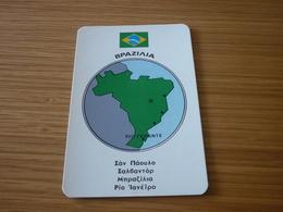Brazil Related Rio Grande Old Certalidon Medicine Greek '50s Game Trading Card - Trading Cards