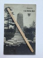 GENAPPE -VIEUX-GENAPPE,MONUMENT élevé Aux Glorieux Morts De Le Guerre 1914-1918 (PHOTO-CARTE ). - Genappe