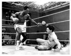 GRANDE PHOTO ORIGINALE BOXE ROY SMITH CONTRE TEE JAY FORMAT  25 X 20 CM - Boxing
