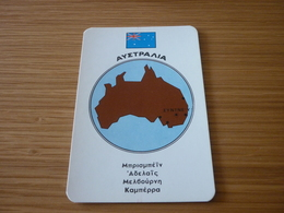 Australia Related Sydney Old Certalidon Medicine Greek '50s Game Trading Card - Trading Cards