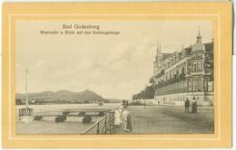 Bad Godesberg; Rheinufer Und Blick Auf Das Siebengeberge - Nicht Gelaufen. (Max Wipperling - Elberfeld) - Bonn