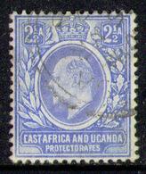 EAST AFRICA & UGANDA 1904 - Ultramarine From Set Used - Protectorados De África Oriental Y Uganda