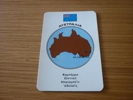 Australia Related Melbourne Old Certalidon Medicine Greek '50s Game Trading Card - Trading Cards