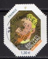 France 2018.Issu Du Bloc Edouard Vuillard.Cachet Rond Gomme D'origine - Blocs & Feuillets