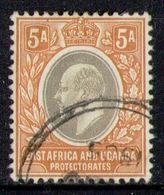 EAST AFRICA & UGANDA 1904 - From Set Used - Kenya, Uganda & Tanganyika