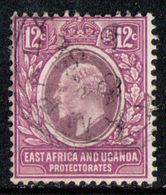 EAST AFRICA & UGANDA 1907 - From Set Used - Protectorados De África Oriental Y Uganda