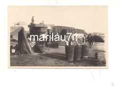 M6016 Lavoro Trebbiatrice Fotografica Anni '50 Sicilia Non Viaggiata - Paesani