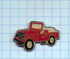 Pin's Pins /  THEME Transport AUTO JEEP   / Rare Et De Belle Qualité - Transports