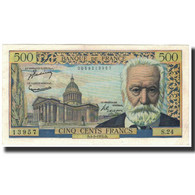 France, 500 Francs, 500 F 1954-1958 ''Victor Hugo'', 1954-03-04, SUP - 1871-1952 Circulated During XXth