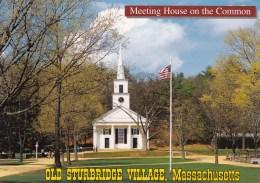 Center Meeting House, Common, Old Sturbridge Village, Massachusetts, US Unused - United States