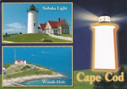 Lighthouse At Cape Cod, Massachusetts, US Unused - Cape Cod