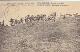 Est Africain Allemand (Occupation Belge) - Ganzache Mit Ueberdruck - 1919         (180615) - Ehemalige Dt. Kolonien