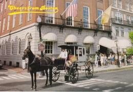 Horse Drawn Carriage, Cheers From Boston, Massachusetts, US Unused - Boston