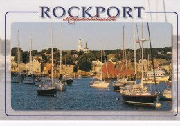 Picturesque Rockport Harbor, Rockport, Massachusetts, US Unused - United States