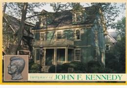 Brookline, Birthplace Of John F. Kennedy, Massachusetts, US Unused - United States